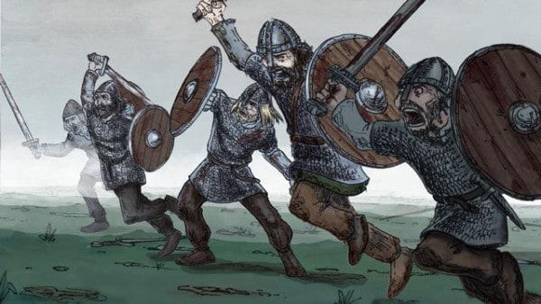 Harald-Bluetooth-Gormson-Kings-Vikings-Jelling-Dannevirke-Trelleborg-Ravning-Bridge-Denmark