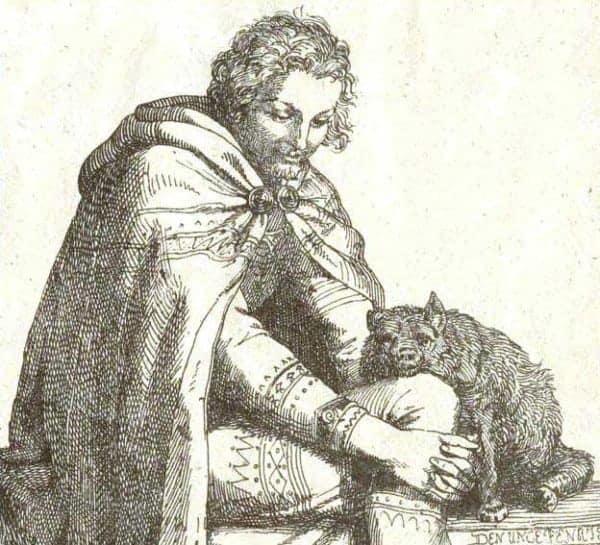 Loki-and-the-Young-Fenris-Wolf-norse-myth-mythology