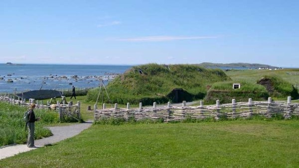 anse-aux-meadows-on-the-island-of-Newfoundland-in-Canada-north-america-viking-settlement