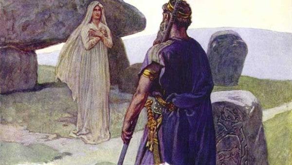 Odin-Volva-norse-mythology-asatru
