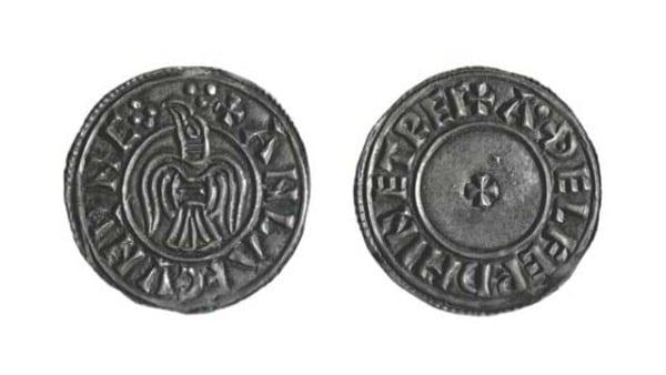 Viking-silver-penny-coin-york-jorvic-raven-flag