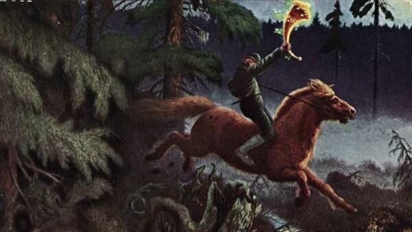 guldhornet-theodor-kittelsen-painting-longhorn
