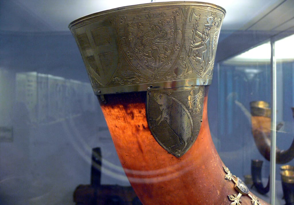norway-kingshorn-Norwegian-Danes-Håkon-Magnusson-drinking-horn-Danish-national-museum-Copenhagen