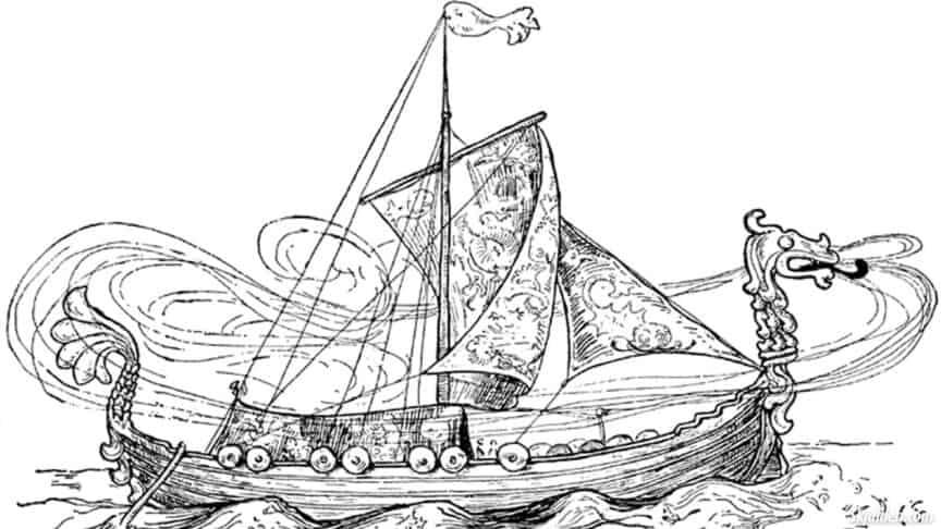 Skidbladnir-ship-norse-mythology