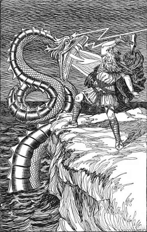 midgard-serpent-jörmungandr-norse-mythology