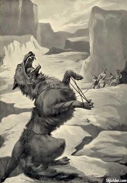 binding-Fenrir-norse-mythology
