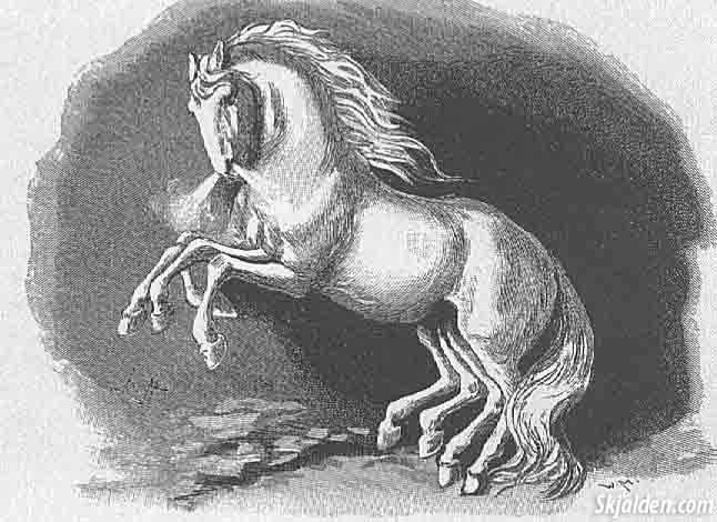 odins-horse-norse-mythology