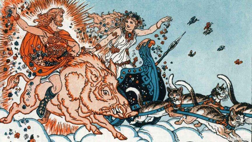 vanir-freya-freyr-norse-mythology
