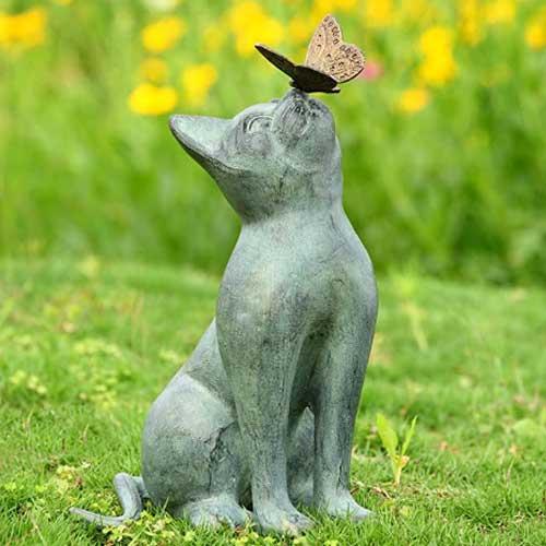 cat-garden-statue-unique-gift